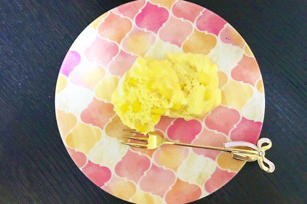 チーズとコーンの米粉蒸しパン