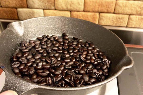 コーヒー 焙煎 手順